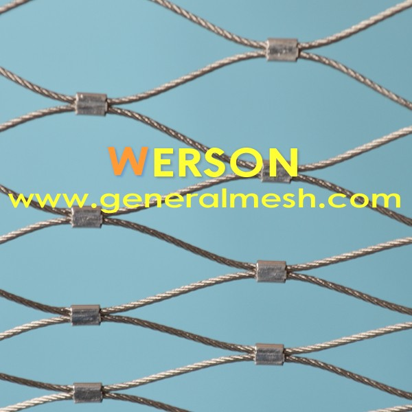 Stainless Steel X-Tend Rope Mesh | Werson Wire Mesh Fence Co,. Ltd.