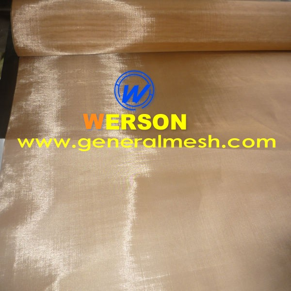 250mesh Phosphor Bronze Wire Mesh For EMI & RFI Shielding